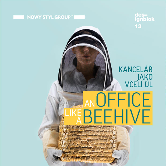 Designblok 2013: an office like a beehive