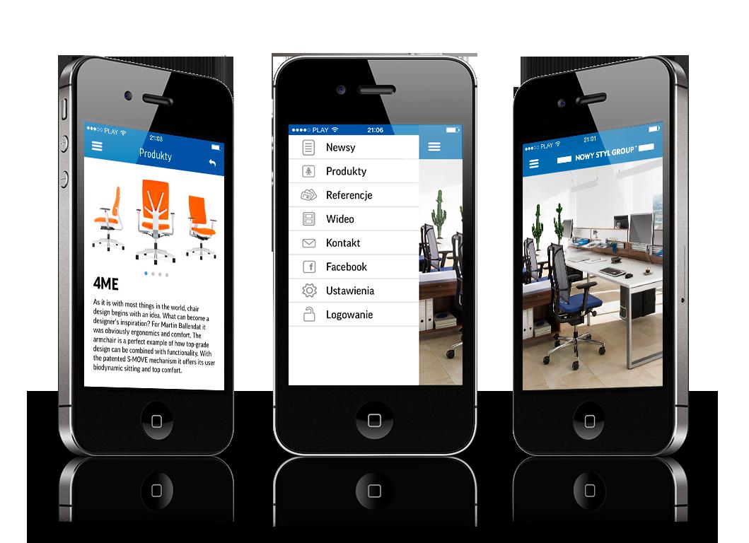NSG iOS app