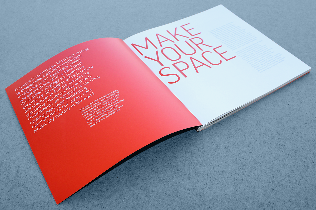 Make Your Space catalogue