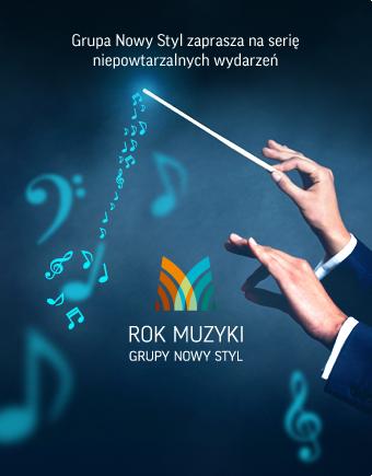 Rok Muzyki website & online campaign