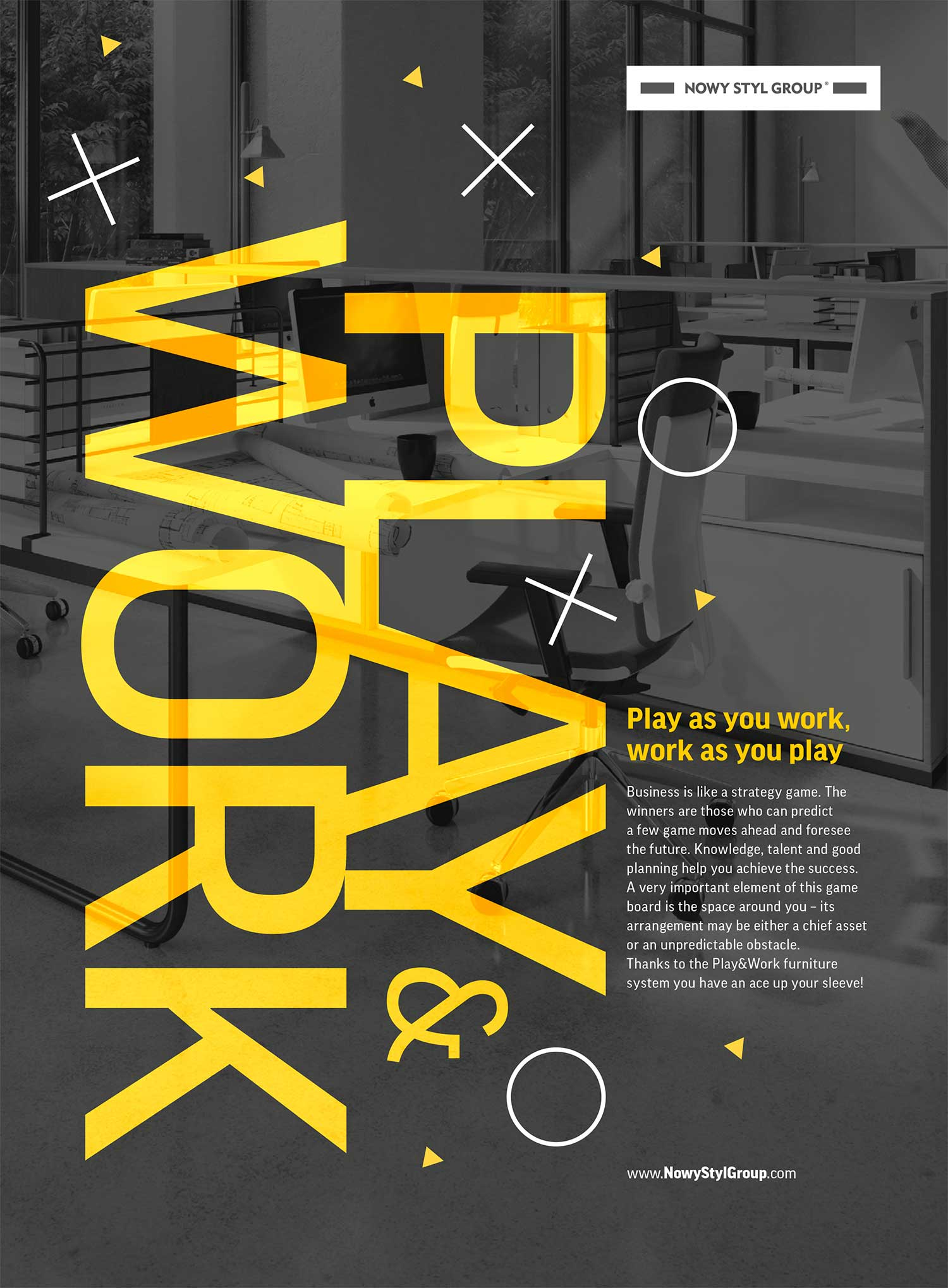 Play&Work press ad